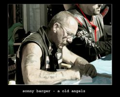 Sonny Barger by SUN57