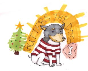 Butters the Dog by Rejcx