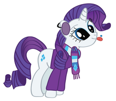 Rarity - First Snow Of The Season by snajperpl