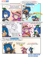 Impy n Aevy strip by GreenWiggly