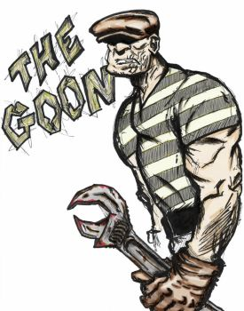 The Goon with a wrench by killddianette