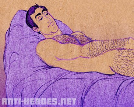 Tom Wanks Reclined by ANTI-HEROES