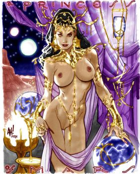 Adam Hughes - Dejah Thoris 01 by PylgrimX