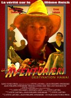 Poster of Les Aventuriers Destination Hawai by Neost