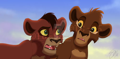 The Lion King - Father And Son by TC-96
