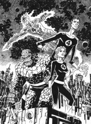 Fantastic Four by deankotz