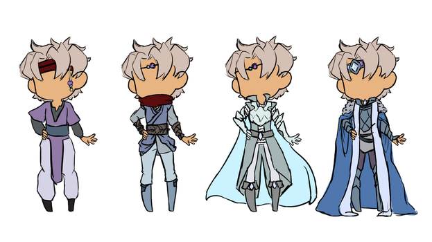 Brentan Outfits by iCheddart