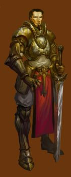Knight Design Male by lorlandchain