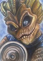 ACEO: The Silurians by DanielleMWilliams