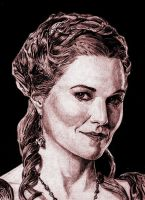 Lucy Lawless- Lucretia by saintaker