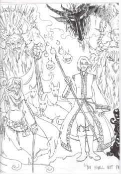 Stephan in the Sickle Wood by supremetechgoddess
