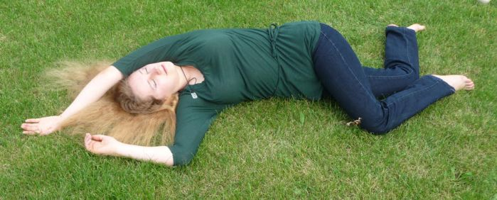 lying on the grass 3 by indeed-stock