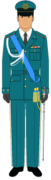 Gendarmerie Staff Officer, Dress Uniform (no. 2) by Macharius88