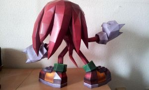 Knuckles the Echidna - c by Destro2k