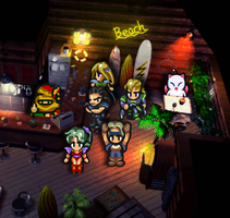 FF6 Costa Del Sol Party by likelikes