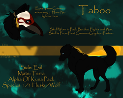 Taboo - Unsilenced by littlezombiesol