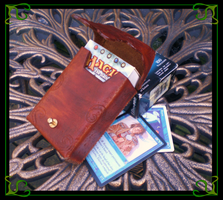 Cthulhu Pouch with Magic Cards by Isinglass-Industries