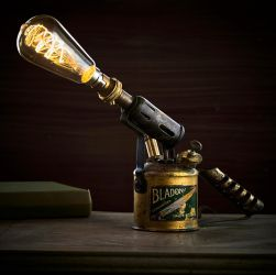 steampunk lamp by muzster