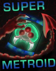 Super Metroid Poster by PracticallyGeeky