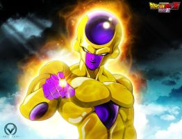 GOLDEN FRIEZA by ERIC-ARTS-inc