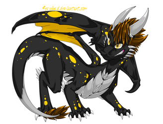 Will as a Dragon by O-C-Disorder