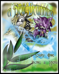 I.A.N.B. Story 1 Cover by Chime-Fawler