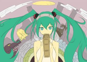 Hatsune Miku_3_CD_cover_draft by beanbeancurd