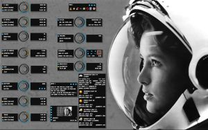 Girl Astronaut VR1.1 by sephirotess