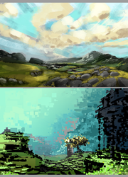 Notans Landscapes by Lodratio