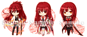 Elsword Key-ring Project: Elesis all class by noirjung