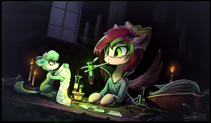 Commission: The science? by Ramiras