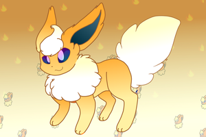 Flareon by redburrie