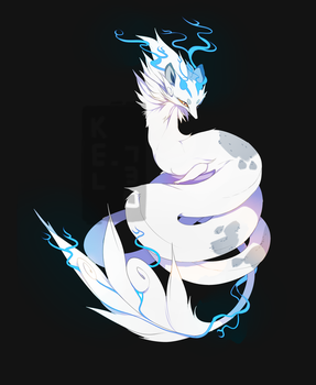 Adopt Auction [CLOSED!] Arctic Pipefox by Kel-Del