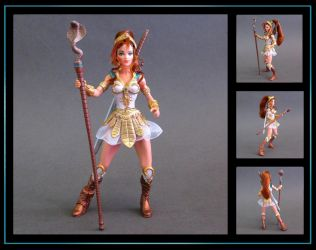 Teela 200X (with rooted hair) custom figure by nightwing1975