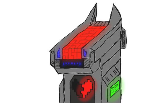 Robot V2 - Even Robotdogs have Feelings by halo66