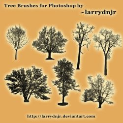 ~larrydnjr Tree Brush Set by LarryDNJR
