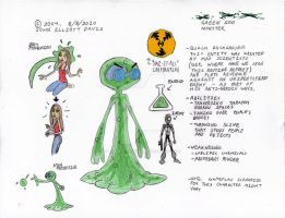 Green Goo: Character Profile by LittleGreenGamer