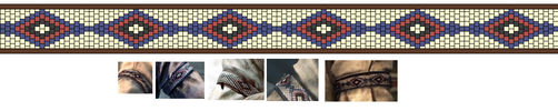 Assassin's Creed 3. Connor's armband pattern by livengood