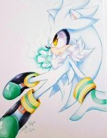 Silver the Hedgehog by Moon--Shield