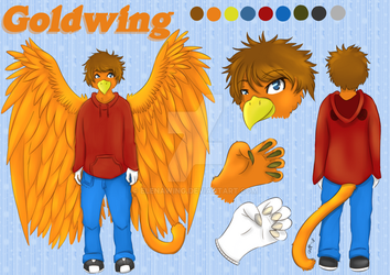 Goldwing Reference Sheet by elenawing