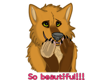 So Beautiful Sticker by Gerundive