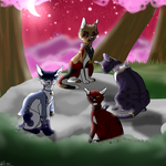 The Four Giants - ART TRADE by PrimeContagion-2