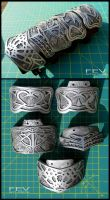 AC1- Altair's bracer plates by fevereon