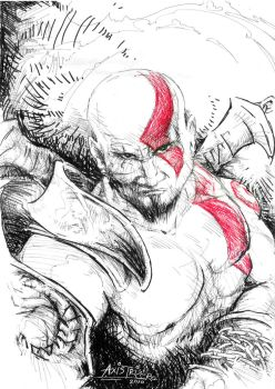 Kratos - The God of War by axis000