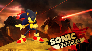Sonic Forces by AusJamART