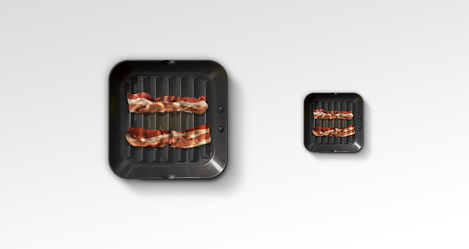 Bacon Diet App Icon by TheRyanFord