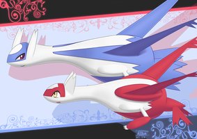 Red and Blue by AllenLatios