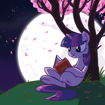 Moonlight Request by professor-ponyarity