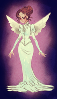 The Angel of Paris by Kastia