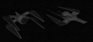 TIE-X Fighter by quacky112